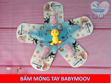 BẤM MÓNG TAY BABY MOOV CHO BÉ